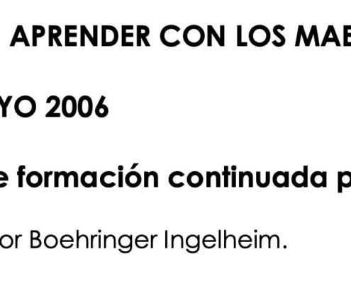 """JORNADAS """" APRENDER CON LOS MAESTROS"""""""