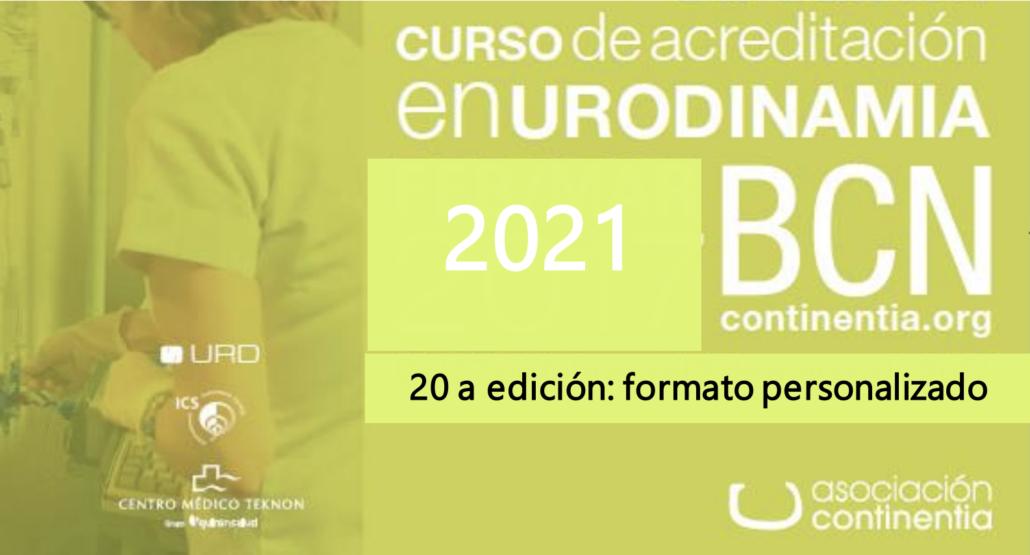 cursos urodinamia 2021